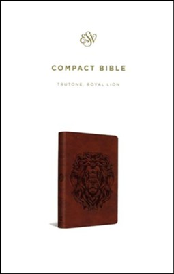 ESV Compact Bible (TruTone, Royal Lion) Imitation Leather  -