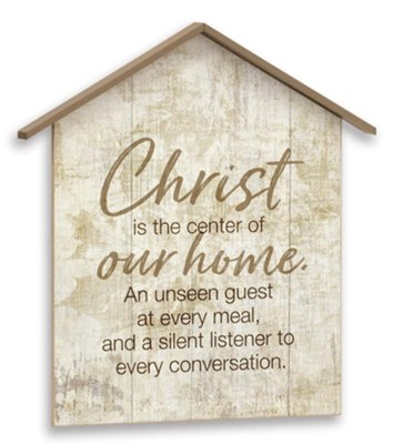 Christ is the Center, Plaque  -