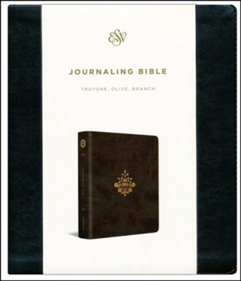 ESV 2-Column Bible, TrueTone Olive, Imitation Leather   -