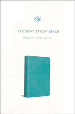 ESV Student Study Bible, Trutone, Turquoise  -