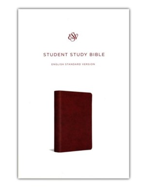 ESV Student Study Bible, Trutone, Chestnut - Imperfectly Imprinted Bibles  -
