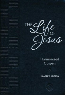 The Passion Translation (TPT): The Life of Jesus, Harmonized  Gospels (Reader's Edition), imitation leather, black  -     By: Brian Simmons