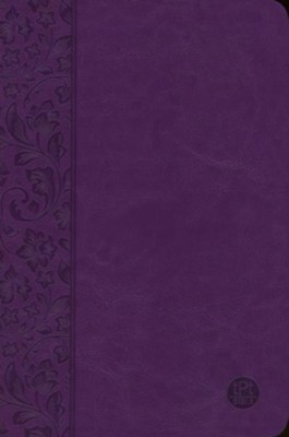 The Passion Translation (TPT): New Testament with Psalms, Proverbs, and Song of Songs - 2nd edition, imitation  leather, purple    -     By: Brian Simmons