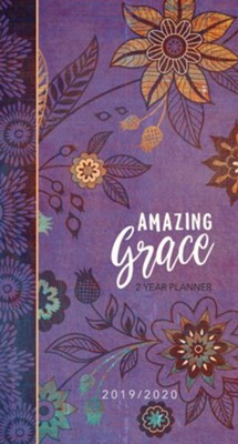 2019/2020 Amazing Grace - 2-Year Pocket Planner  -