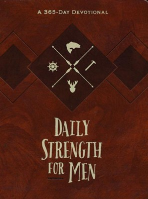 Daily Strength for Men: A 365-Day Devotional  -     By: Chris Bolinger