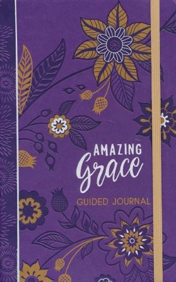 Amazing Grace (guided journal), imitation leather  -