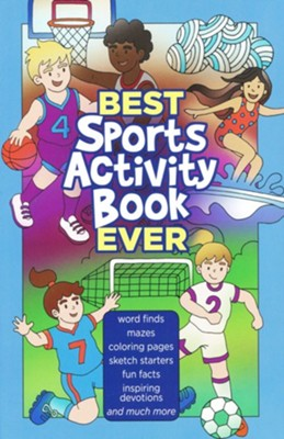 Best Sports Activity Book Ever  -