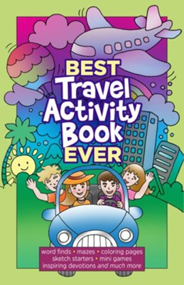 Best Travel Activity Book Ever  -