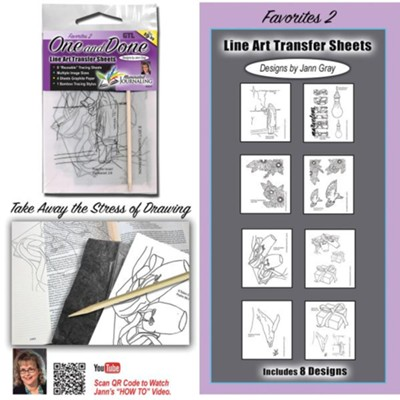 Favorites 2 One And Done Transfer Sheets  -     By: Jann Gray