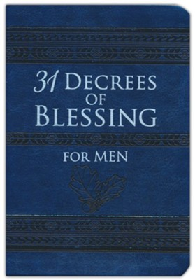 31 Decrees of Blessing for Men  -     By: Robert Hotchkin