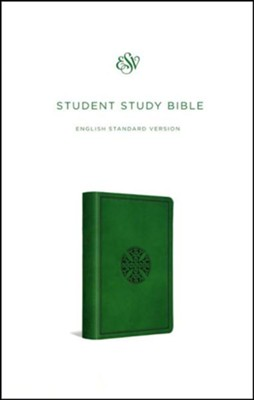 ESV Student Study Bible, Trutone, Green with Mosaic Cross Design  -