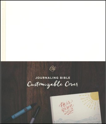 ESV Journaling Bible (Customizable Cover)  -
