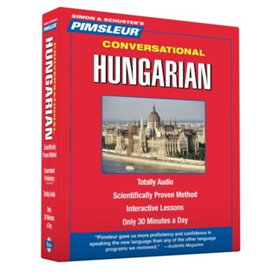 Conversational Hungarian  -     By: Pimsleur