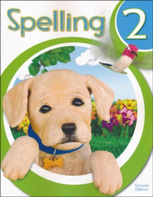 BJU Spelling 2 Student Worktext, Second Edition   (2018 Copyright)  -