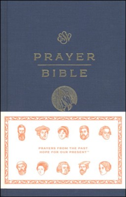 ESV Prayer Bible, hardcover  -