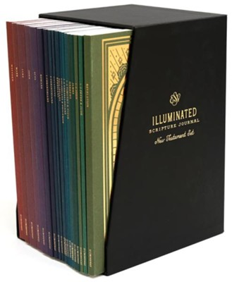 ESV Illuminated Scripture Journal: 19-Volume New Testament Boxed Set  -