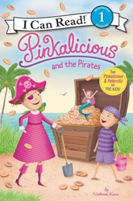 pinkalicious and the pirates softcover victoria kann illustrated