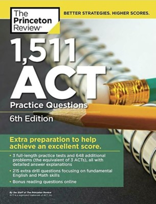 1,471 ACT Practice Questions, 6th Edition  -