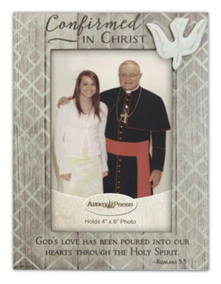 Confirmed in Christ Photo Frame  -