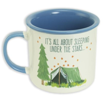 It's All About Sleeping Under the Stars Mug  -