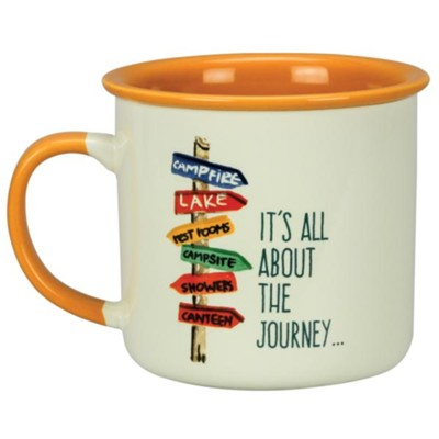 It's All About the Journey Mug  -