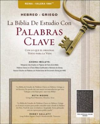 RVR 1960 Hebreo-Griego La Biblia De Estudio Con Palabras Clave Piel ...