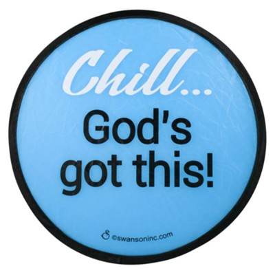 Chill... God's Got This Foldable Fan  -