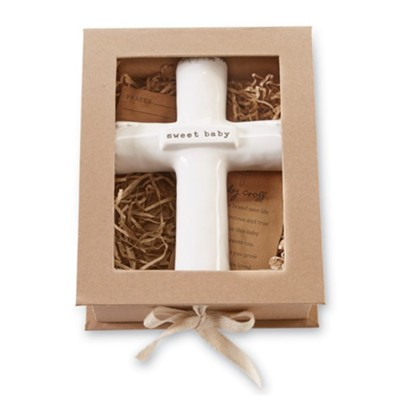 Sweet Baby Prayer Cross  -