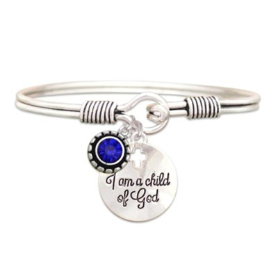 Child Of God Bracelet, Sapphire, September  -
