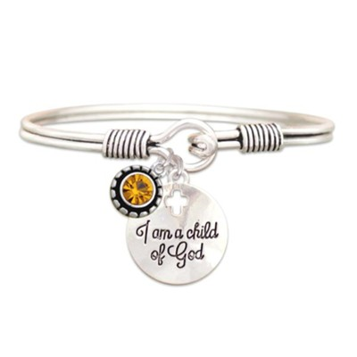 Child Of God Bracelet, Topaz. November  -