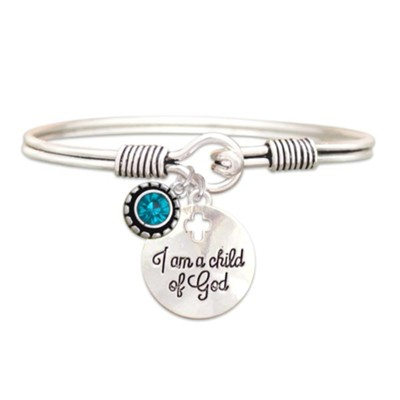 Child Of God Bracelet, Zirconia, December  -