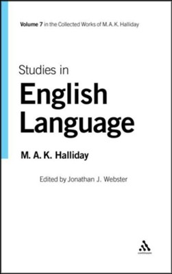 Studies in English Language  -     By: Michael A.K. Halliday