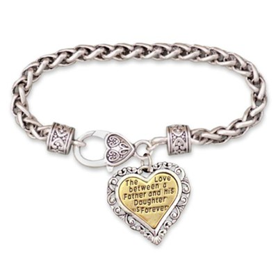 Love Between A Father and Daughter Bracelet  -