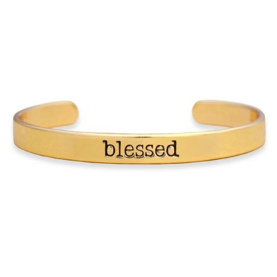 Blessed Cuff Bracelet, Gold  -