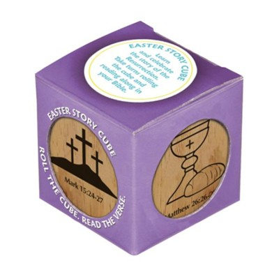 Easter Cube, Large     -
