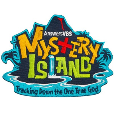 Mystery Island: Iron-On Patch (pkg. of 10) - By: Mystery Island