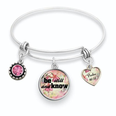 Be Still and Know Bangle Bracelet  -