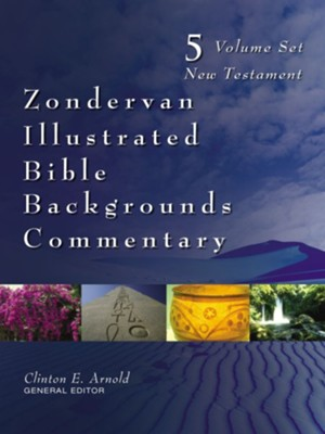 Zondervan Illustrated Bible Backgrounds Commentary, 5 Volumes: New Testament  -     By: Clinton E. Arnold