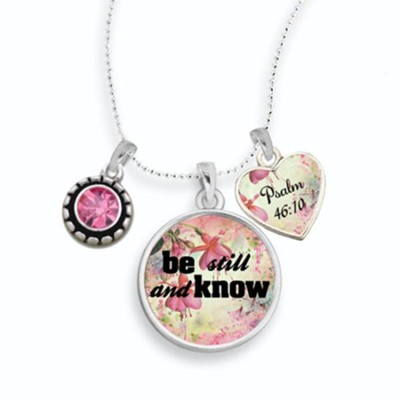 Be Still and Know Necklace  -