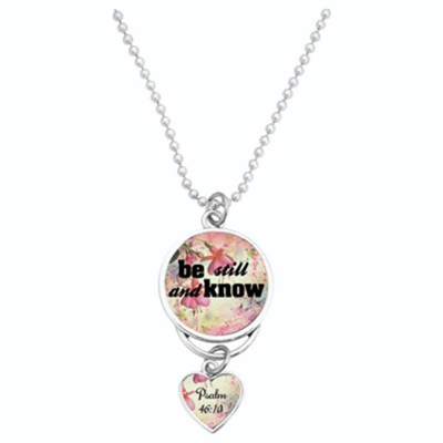 Be Still and Know Car Charm  -