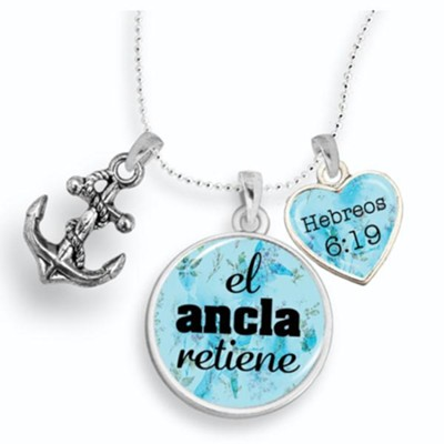 The Anchor Holds Necklace, Spanish  -