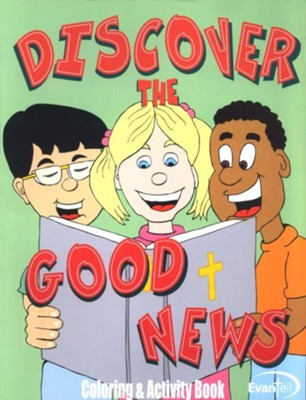 Discover the Good News: Coloring and Activity Book   -