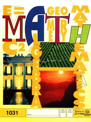Latest Edition Math PACE 1031 Grade 3  -