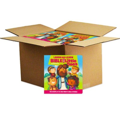 Laugh and Learn Bible for Little Ones, boardbook  Case of 32  -     By: Phil Vischer