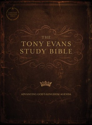 CSB Tony Evans Study Bible, hardcover  -