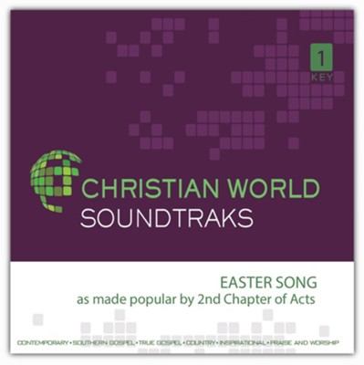 Easter Song Accompaniment CD  -     By: 2nd Chapter of Acts