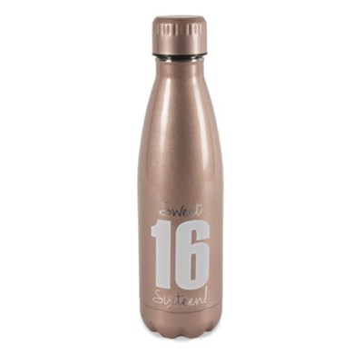 Sweet Sixteen, Stainless Steel Water Bottle  -