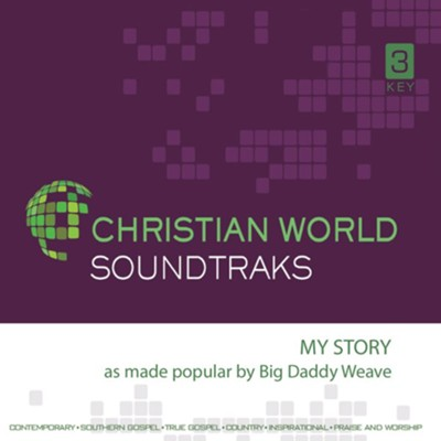 My Story Accompaniment CD  -     By: Big Daddy Weave