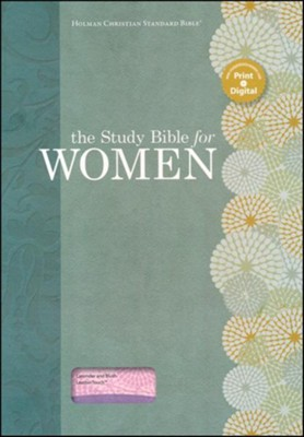 HCSB Study Bible for Women, Lavender and Blush LeatherTouch   -     By: Dorothy Patterson