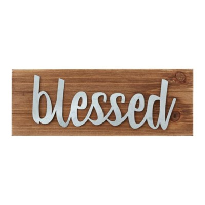 Blessed Plaque  -